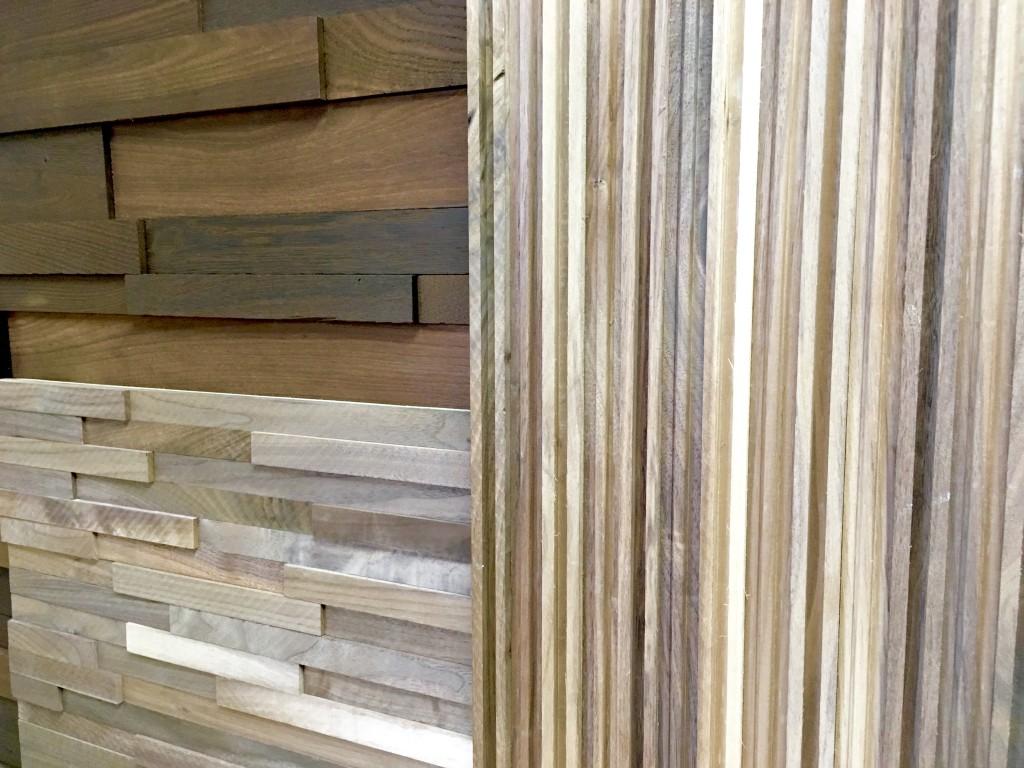 木製アクセントウォールボード